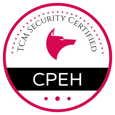 TCM CPEH Exam / Certification Review